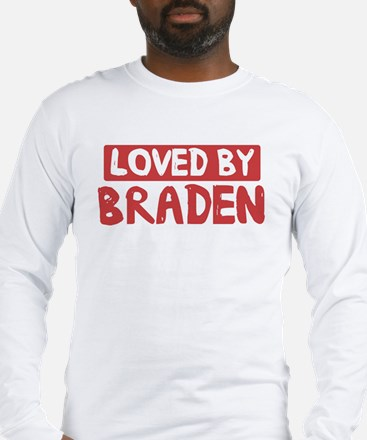 Loved by Braden Long Sleeve T-Shirt