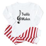 Treble Maker Baby Pajamas