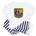 USS OKLAHOMA CITY Baby Pajamas
