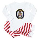 USS MISSOURI Baby Pajamas