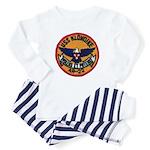 USS KLONDIKE Baby Pajamas
