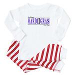Mardi Gras Baby Pajamas