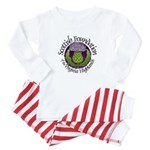 Scottish Thistle Baby Pajamas