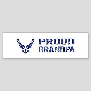 USAF: Proud Grandpa Sticker (Bumper)