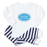 Grandpa's Best Buddy Baby Pajamas