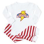 Captain Awesome Baby Pajamas