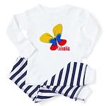 Cute Colombian Butterfly Infant Bodysuit