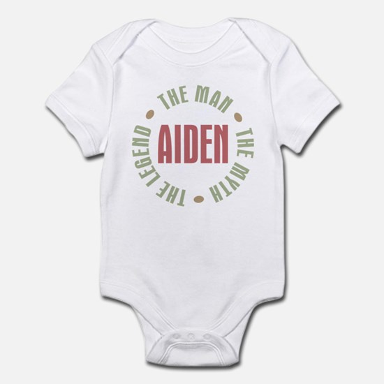 Aiden Man Myth Legend Infant Bodysuit