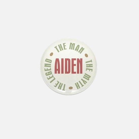 Aiden Man Myth Legend Mini Button