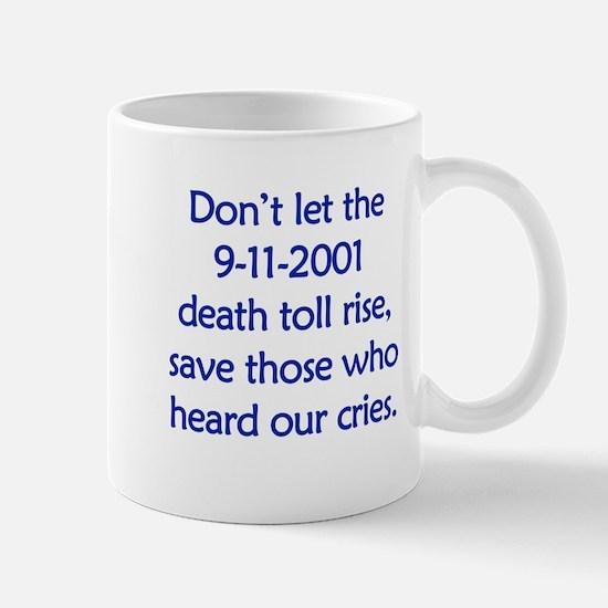 Save our heroes Mug