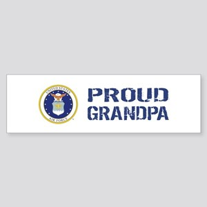 USAF: Proud Grandpa Sticker (Bumper)