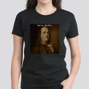 Ben Franklin Women's Dark T-Shirt