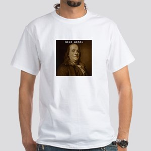 Ben Franklin White T-Shirt