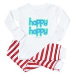 Happy Happy Joy Joy (happy) Baby Pajamas