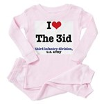 I (Heart) the 3id - Toddler Pink Pajamas