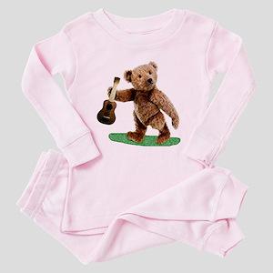 teddy Toddler Pink Pajamas