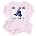 St. Helen Knights Toddler Pink Pajamas