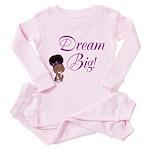 Dream Big Toddler Pink Pajamas
