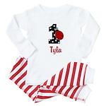 1 Ladybug - Custom TYLA Baby Pajamas