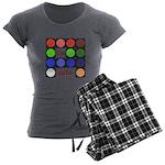I'm gel'n (I'm gelling) Women's Charcoal Pajamas
