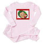 Born in Guatemala Baby Pajamas