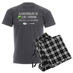 Chemistry Cooking Men's Charcoal Pajamas