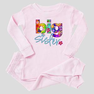 7461b9578 Big Brother Big Sister Baby Pajamas - CafePress
