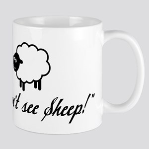 I Can't See Sheep Mug