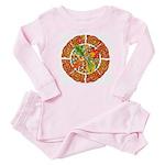 Celtic Autumn Leaves Baby Pajamas