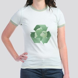 Recycling Jr. Ringer T-Shirt