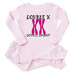 Double X, Double Smart Baby Pajamas