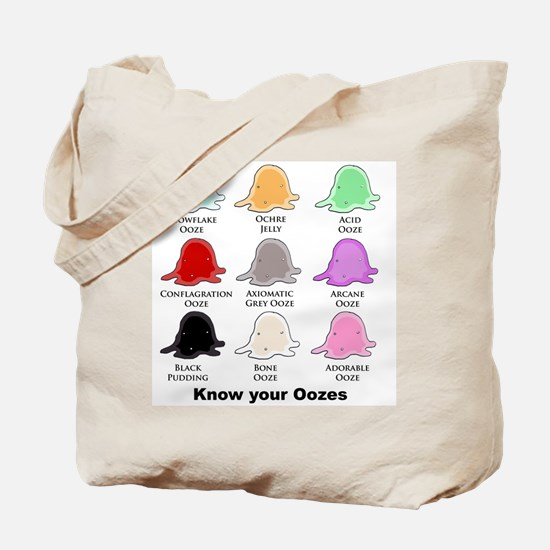 Know your Oozes Tote Bag