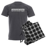 Left-Handed Men's Charcoal Pajamas