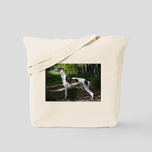 Greyhound Art Tote Bag