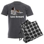 Saint Bernard Men's Charcoal Pajamas