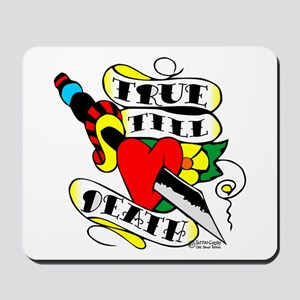 Dagger Heart True Till Death Mousepad