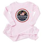 Coast Guard Aunt Baby Pajamas
