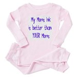 My Moms Ink Baby Pajamas