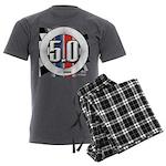 5.0 50 RWB Men's Charcoal Pajamas