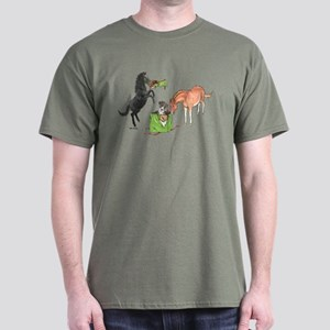 Minis Great Dane Gift Dark T-Shirt