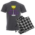 50th Birthday Men's Charcoal Pajamas