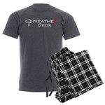 Weather Geek Men's Charcoal Pajamas