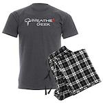 Weather Geek Men's Charcoal Pajamas