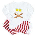 Breakfast Pirate Baby Pajamas