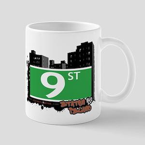 9 STREET, STATEN ISLAND, NYC Mug