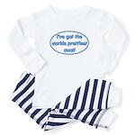 Prettiest aunt Baby Pajamas