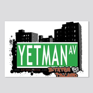 YETMAN AVENUE, STATEN ISLAND, NYC Postcards (Packa