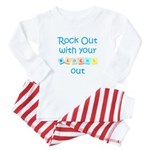 Rock Out With Your Blocks Out Baby Pajamas