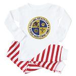 USS LONG BEACH Baby Pajamas