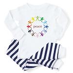 Peace Bebes Infant Creeper